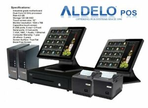 Aldelo Pos Pro Software Complete With All Hardware