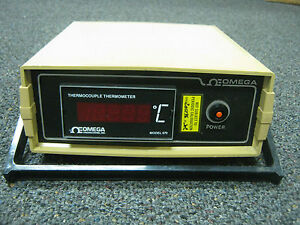 Omega Engineering Thermocouple Thermometer Model 670 K Ds