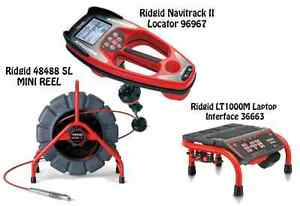 Ridgid 200 Mini Reel 48488 Navitrack Ii Locator 96967 Lt1000m 36663