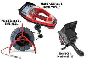 Ridgid 200 Mini Reel 48488 Navitrack Ii Locator 96967 Cs6 45143