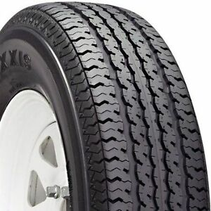 2 New St 205 75r15 Maxxis M 8008 Radial Trailer Tires 8 Ply 2057515 75 15 R15 D