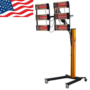 Baking Infrared Paint Curing Lamp 606 Heater Heating Light Spray Booth Filter