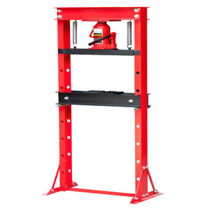 A 20 Ton Hydraulic Shop Press Floor Press H Frame Free Shipping