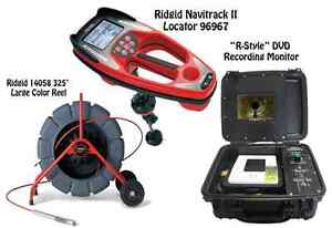 Ridgid 325 Color Reel 14058 Navitrack Ii Locator 96967 r style Dvd Monitor