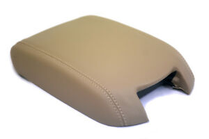 Center Console Armrest Leather Synthetic Cover For Ford Taurus 10 19 Beige