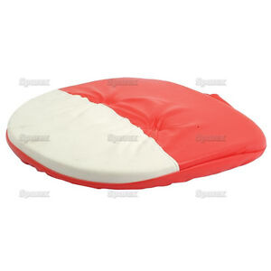 Brand New Seat Cushion Red white To Fit Metal Seats