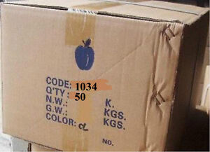 Baggies 1034 Apple Brand 1 x3 4 Bags Ziplock Liquidation Case 50 000