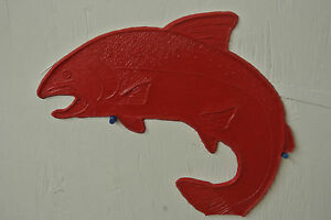 Steelhead Concrete Stamp Decorative Concrete Stamping Fishing Fish