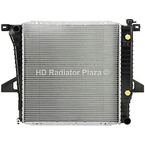 Radiator Replacement For 98 01 Ford Ranger 2 5l L4 4 Cylinder Xlt Xl Se B2500