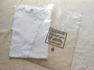 T Shirt Bags Display Store Sales Clothing Sales Clear Bags Liquidation 1000