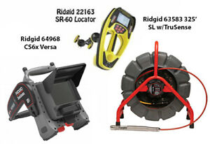 Ridgid 325 Color Sl Reel W ts 63583 Seektech Sr 60 22163 Cs6x Versa 64968