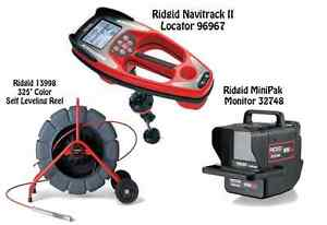 Ridgid 325 Color Sl Reel 13998 Navitrack Ii Locator 96967 Minipak 57143