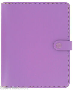 The Filofax Original Organizer A5 Lilac Leather Uk 2018 Diary 022399