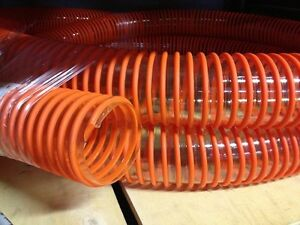 15 Urethane Leaf Vac Saw Dust Collector Collection Flexible 5 In Hose Tubing
