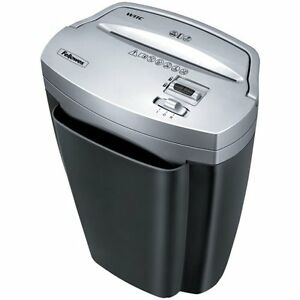 Fellowes Powershred W11c 11 sheet Cross cut Paper And Credit Card Shredder Wit