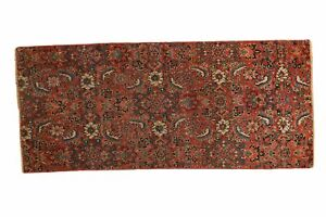 2x4 Antique Bijar Fragment Rug Mat