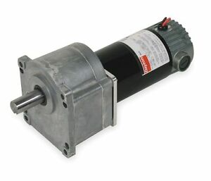Dayton Model 1lpy3 Dc Gear Motor 12 Rpm 1 10 Hp 90vdc 2h457