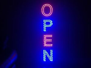 Bright Open Sign Full Color Led Letters Custom Signs