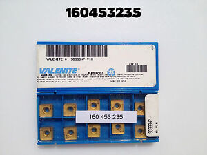 Valenite Carbide Insert Sd333np V1n New In Package Qty 10 Overstock
