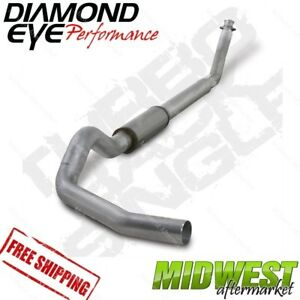 Diamond Eye 4 Turbo Back Exhaust Fits 2003 2004 5 Dodge 5 9l Cummins 2500 3500