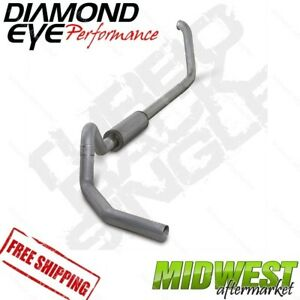 Diamond Eye 4 Turbo Back Exhaust Fits 1999 5 03 5 Ford F450 7 3l Powerstroke