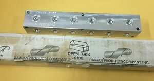 Daman 0100 Aj0900604s Aluminum Hydraulic Junction Block