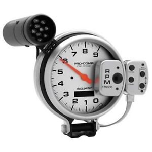 Autometer Auto Meter Pro Comp Silver Pro Stock Tachometers 6832 Free Shipping