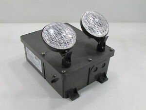 New Hubbell Dual Lite N4x2 Commercial Emergency Light