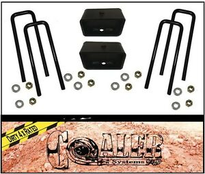 2 Rear Leveling Lift Kit Fits 2007 2018 Chevy Silverado Sierra Gmc Chevrolet
