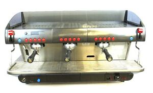 Faema 3 Group Diplomat Refurbished Electronic E91 Commercial Espresso Machine