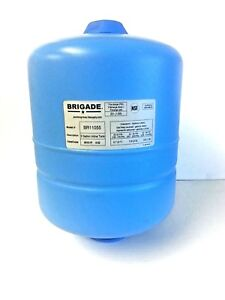 Brigade 2 Gallon Inline Water Storage Tank Br11055 Pressure Plumbing Fitting