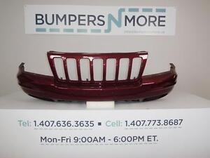 Oem 1999 2000 Jeep Grand Cherokee Limited W integral Grille Front Bumper Cover