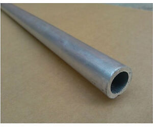 6061 T6 Aluminum Seamless Tubing Od 38mm Id 18mm Length 0 5m 1 64 Ft ea h