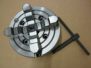 8 Precision 4 Jaw Independent Lathe Chuck