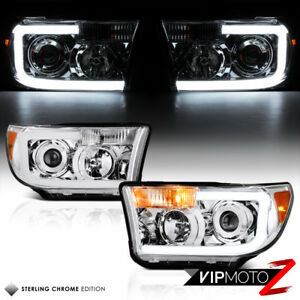 oled Neon Tube For 07 13 Toyota Tundra Chrome Projector Headlights Headlamps