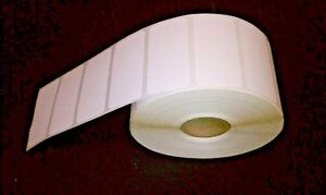 Direct Thermal 2 x1 Paper Barcode Labels For Zebra 2824 2844 gk gx 6 Rolls