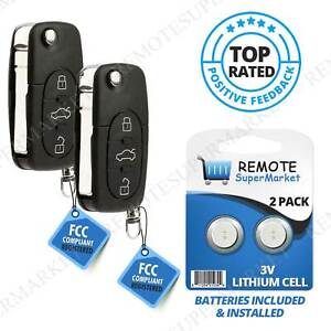 Replacement For Volkswagen Vw 1998 2001 Golf Jetta Passat Remote Key Fob Pair