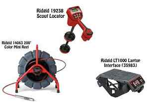 Ridgid 200 Mini Reel 14063 Navitrack Scout Locator 19238 Lt1000 35983
