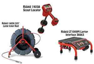 Ridgid 325 Color Reel 14058 Navitrack Scout Locator 19238 Lt1000m 36663