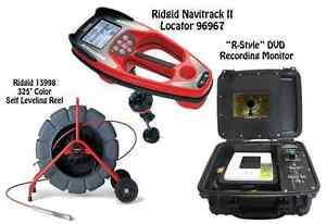 Ridgid 325 Color Sl Reel 13998 Navitrack Ii Locator 21893 r style Dvd Monitor