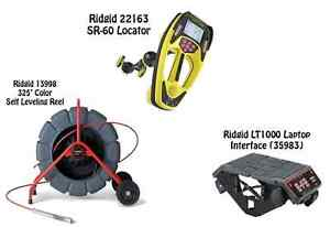 Ridgid 325 Color Sl Reel 13998 Seektech Sr 60 Locator 22163 Lt1000 35983