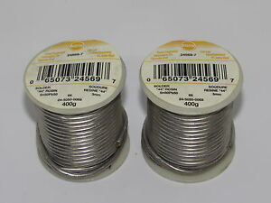 5 Litton kester 24 5050 0069 Solder 44 Rosin Sn50pb50 Core 66 Flux 3 Wire 400g