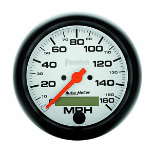 Auto Meter 5888 Speedometer Gauge 3 3 8 160mph Electric Program W