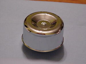 chrome Air Cleaner 2 5 8 smooth Style For Stromberg And Rochester