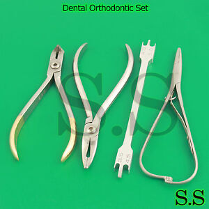 Orthodontic Distal End Cutter Weingart Pliers Mathieu Needle Ortho Tools