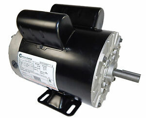 3 Hp 3450 Rpm Air Compressor Electric Motor 115 230 Volts new Century B383