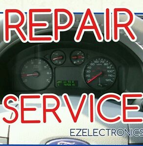 2004 2007 Ford Freestar Instrument Cluster Repair Service Display Gauges Lights