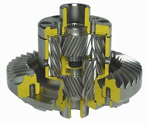 Quaife Atb Helical Lsd Differential For Ford Bc Ib5 Gearbox