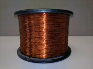 24 Awg Gauge Enameled Copper Magnet Wire 10lb 7000ft 220c Coil Winding