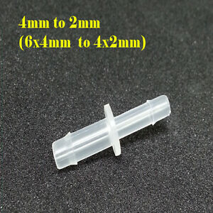 Solvent Resistant Tube Connector 2mm To 4mm Wide Format Printer Ink 6x4 4x2 22